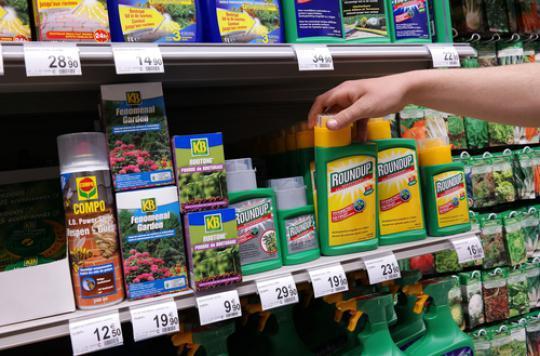 Glyphosate : 132 produits retirés du marché en France