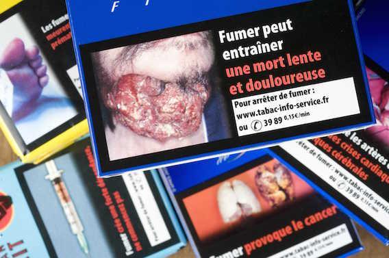 Tabac : les photos choc sur les paquets éviteraient 650 000 morts