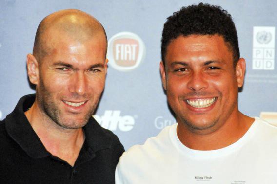 Zidane et Ronaldo, réunis contre Ebola