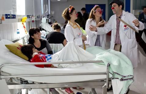 Hôpital : les clowns font une entrée officielle