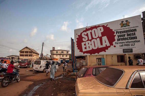 Ebola : 109 personnes en quarantaine en Sierra Leone