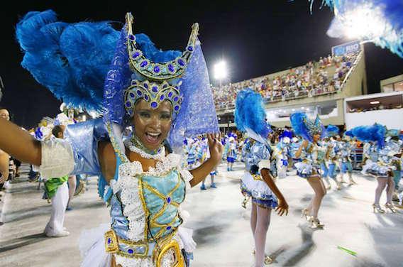 Zika : Pas de bises pendant le carnaval de Rio