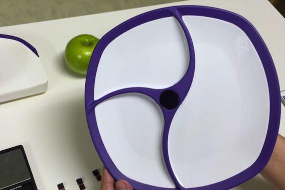 Alimentation : une assiette connectée qui compte les calories