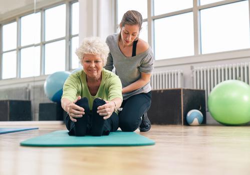 NASH : l'activité physique bénéfique après la ménopause