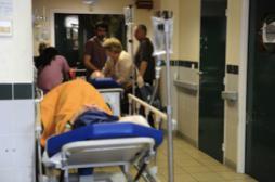 Urgences : la moitié des patients y...