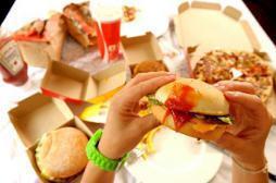 Fast-food : 1% des menus pour enfants...
