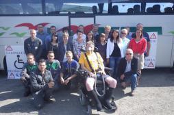 Maladie de Charcot : un patient veut parcourir 788 kilomètres en fauteuil