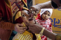 Inde: la vaccination a permis d'éradiquer la polio