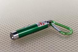 Laser pointeur : un ado perd 60 % de sa vision