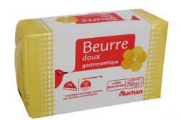 Rappel de plaquettes de beurre contenant des morceaux de câble
