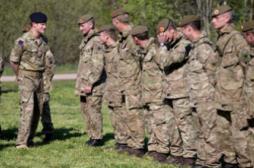 Obésité : 32 000 soldats britanniques en surpoids