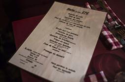 Les allergènes s'affichent au menu des restaurants