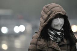 Pékin: un pic de pollution 20 fois supérieur aux seuils de l'OMS