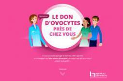 Don d'ovocytes : un site pour...