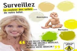Alerte jaune : une campagne pour dépister les maladies du foie du bébé