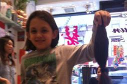 J'ai 10 ans, j'ai coupé 30 cm de mes...