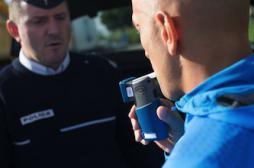 Plus de trois délits routiers sur dix liés à l'alcool