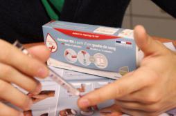 Autotests VIH : une TVA réduite à 5,5 % pour 2017