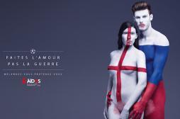 Rapports protégés : une campagne d'AIDES  aux couleurs de l'Euro 2016