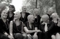 Cancer du sein : 11 femmes se rasent le crâne en soutien à leur amie