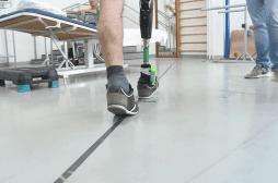 Amputation : une prothèse capable de rendre les sensations perdues de la marche