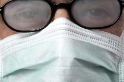 Port du masque : comment éviter la buée sur les lunettes