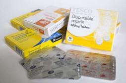 Aspirine : plus efficace le soir pour prévenir les infarctus