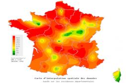 Grippe : la carte de France des régions les plus touchées
