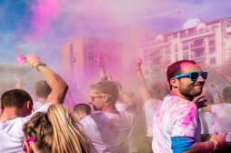 Color Me Rad : les poudres colorées font polémique