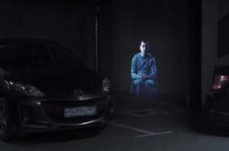 Stationnement : un hologramme surveille les places des handicapés