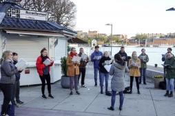 Chanter en groupe pendant la pandémie ? Mauvaise idée !