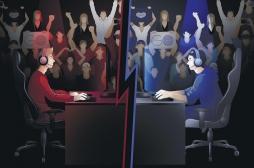 Stress: les joueurs de e-sport à la même enseigne que les sportifs