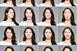Il existe 16 expressions faciales communes à tous les humains