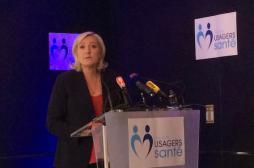 Santé : Marine Le Pen s'en prend à...