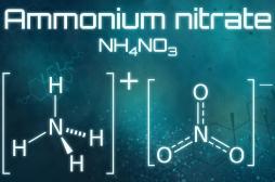 Quels sont les effets du nitrate d'ammonium sur la santé?