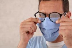 Covid-19 : les lunettes de vue protègent contre le virus