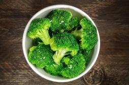 Légumes verts, tous les jours indépendamment des fruits