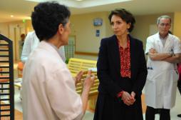 Soins palliatifs : Marisol Touraine...
