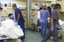 Grippe : 142 services d'urgence en...