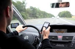 SMS, appels : les conducteurs prennent plus de risques au volant