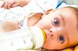 Les enfants nourris au lait entier seraient plus minces