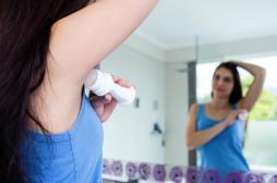 Cancer du sein : l'aluminium des déodorants soupçonné