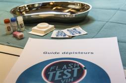 VIH : le nombre de tests