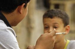 Tabagisme passif : moins 80 %  chez les enfants