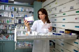Pharmacies : les départements...