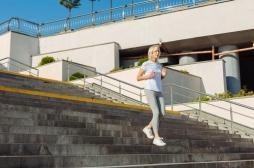 Monter les escaliers, une bonne manière d'améliorer la condition physique pour les femmes ménopausées