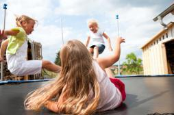 Trampoline : 18 fois plus d'accidents...