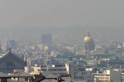 Pollution : la circulation alternée mise en place à Paris mardi