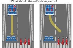Sécurité routière : le sombre dilemme des voitures autonomes