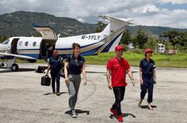 Cardiologie : un avion-hôpital pour soigner les plus démunis